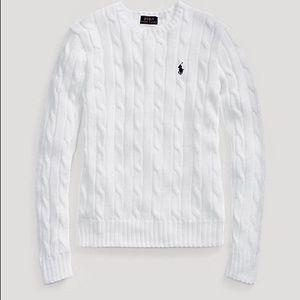Ralph Lauren slim fit cable-knit sweater